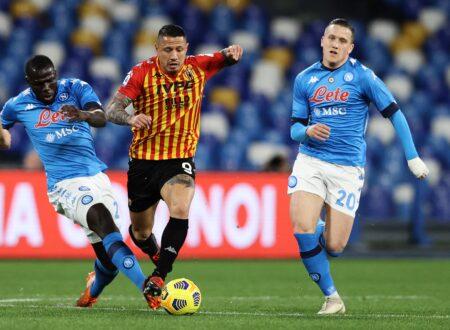 Napoli-Benevento 2-0 tabellino: sintesi, statistiche e marcatori
